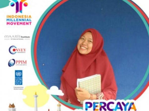 Nurul Izzati Mahasiswa STAIN Bengkalis (Prodi Tadris Bahasa Inggris) Lulus Ikuti Indonesia Milenial Movement di Jakarta